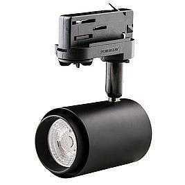 Interlight LED Stromschienenstrahler Colourdrop schwarz 10W 40° 3000K CRI>92