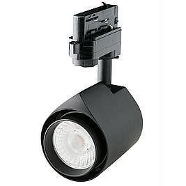 Interlight LED Stromschienenstrahler Colourdrop schwarz 15W 36° 3000K CRI>90 BBBL
