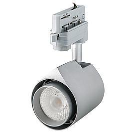 Interlight LED Stromschienenstrahler Colourdrop silber 22W 36° 4000K CRI>90