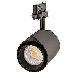 Interlight LED Stromschienenstrahler Colourdrop schwarz 38W 36° 3000K CRI>90 BBBL