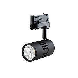 Interlight LED Stromschienenstrahler ColourPunch schwarz 7,5W 36° 3000K CRI>90