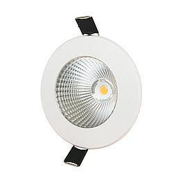Interlight LED Play Downlight 8Watt 3000K 38° 800Lumen dimmbar