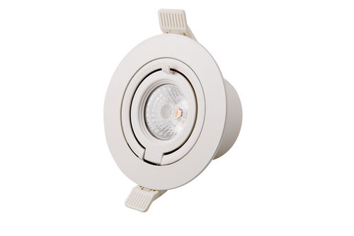 Interlight LED Downlight 7W 36° Mini Banana Camita 2800K Ra9+ 500Lumen CRI>90