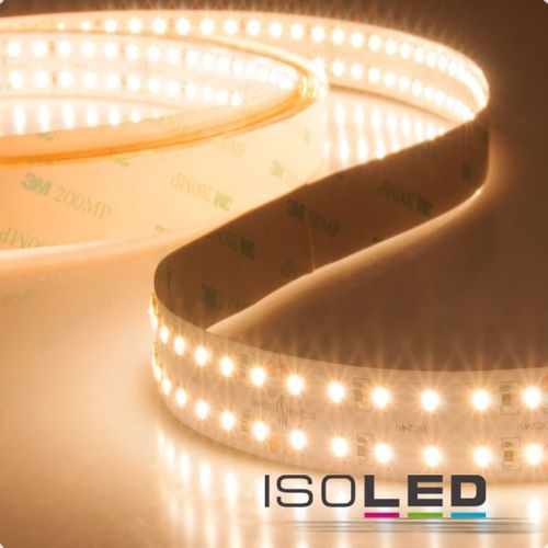 Isoled LED CRI930-Flexband, 24V, 24W, zweireihig IP20, warmweiß