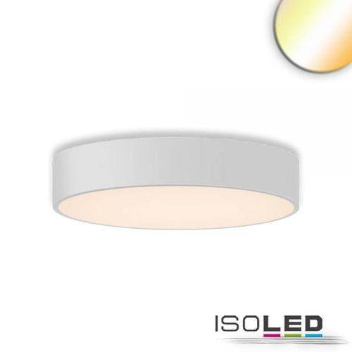 Isoled LED Deckenleuchte, DM 60cm, weiß, 42W, ColorSwitch 3000|3500|4000K, dimmbar