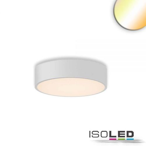 Isoled LED Deckenleuchte, DM 40cm, weiß, 28W, ColorSwitch 3000|3500|4000K, dimmbar