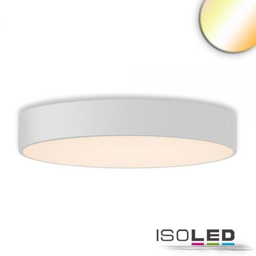 Isoled LED Deckenleuchte, DM 80cm, weiß, 85W, ColorSwitch 3000|3500|4000K, dimmbar