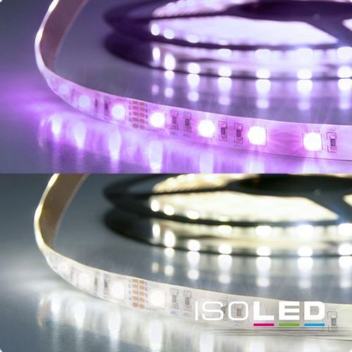 Isoled LED SIL-Flexband, 24V, 19W, IP20, RGB+KW 4in1 chip