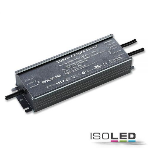 Isoled Trafo 24V/DC, 0-250W, 1-10V dimmbar, IP67