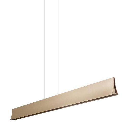 LED´s Pendelleuchte Bravo 39,3W  up and down 697 + 1793Lumen 3000K gold